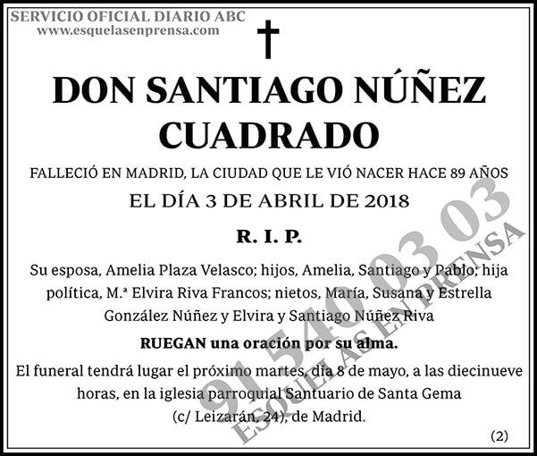 Santiago Núñez Cuadrado